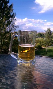 Beer Mug outside