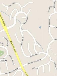 Falcon Hills Map