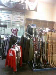 The Hockey shop at the Ice Ranch