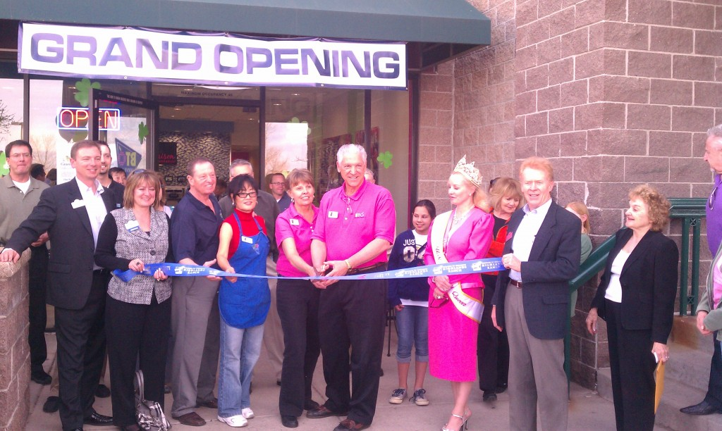 BTO Frozen Yogurt Ribbon Cutting Ceremony Highlands Ranch CO