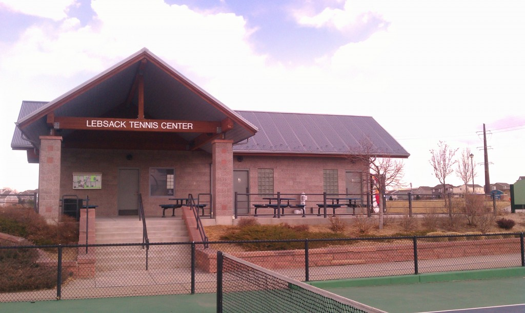 Lebsack Tennis Center Highalnds Ranch