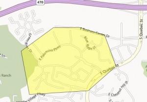 Palomino Park Map