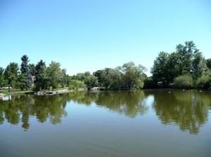 Sterne Park pond