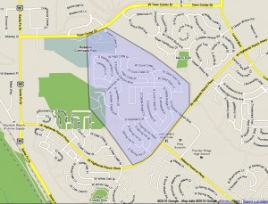 Westridge Pointe Map