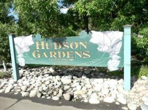 hudson gardens sign littleton co
