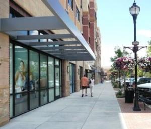 streets of southglenn sidewalk