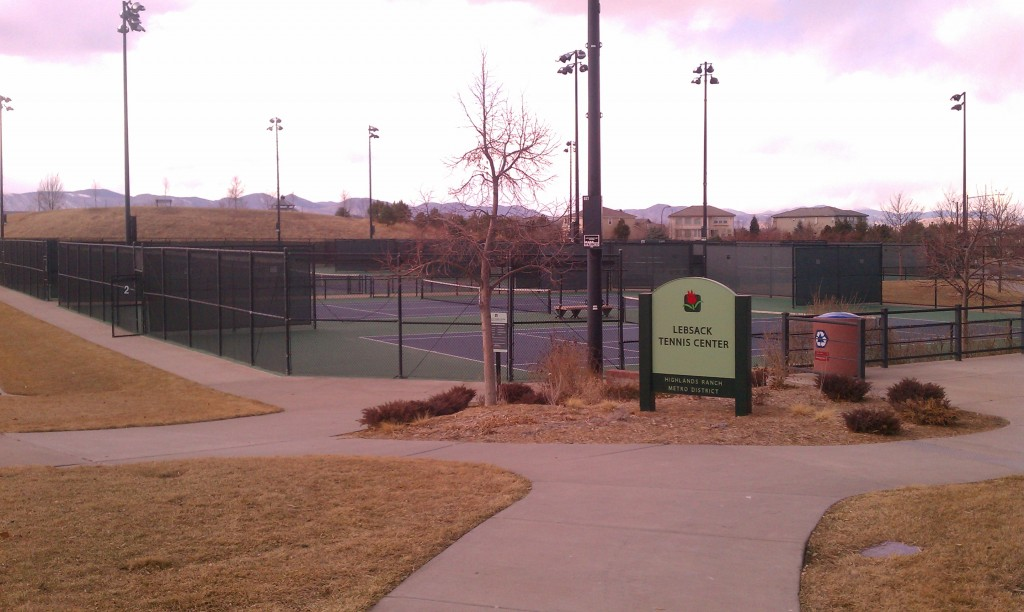 tennis at Redstone Park Highlands Ranch